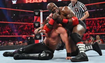 Bobby Lashley Seth Rollins WWE Raw