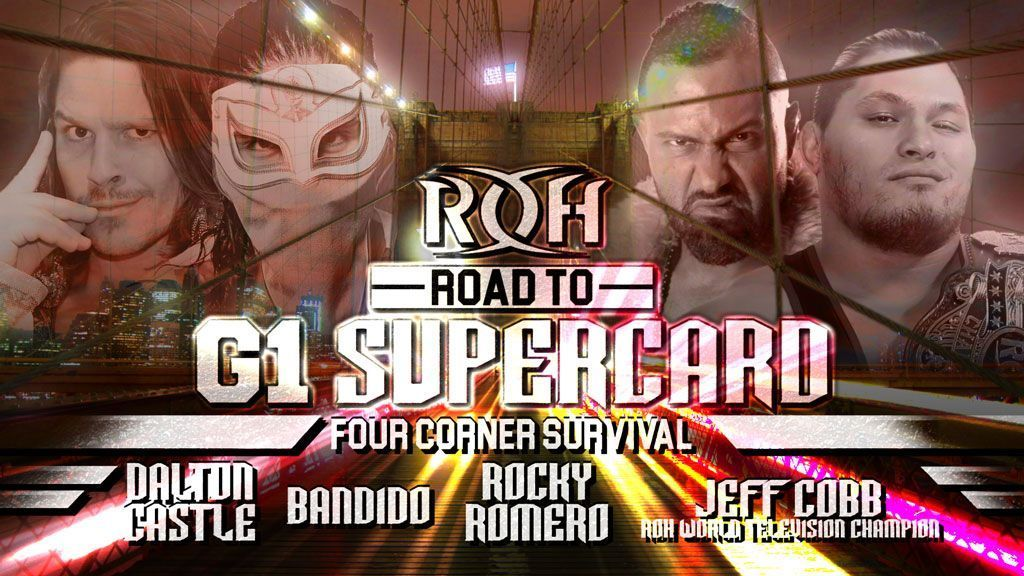Road To G1 Supercard Houston