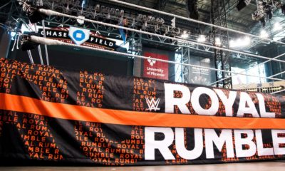 WWE Royal Rumble Chase Field