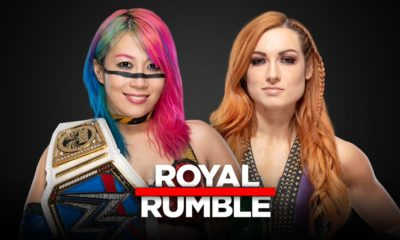 Royal Rumble Becky Asuka