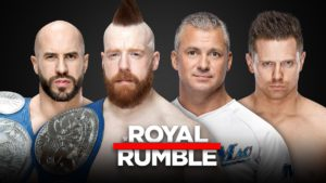 Royal Rumble Miz Shane