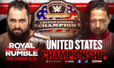 Royal Rumble US Title