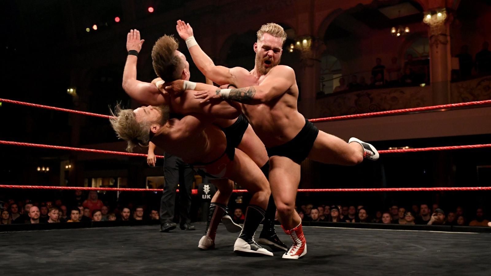 WWE NXT UK Moustache Mountain Star Ratings