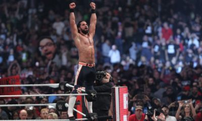 WWE Royal Rumble Seth Rollins