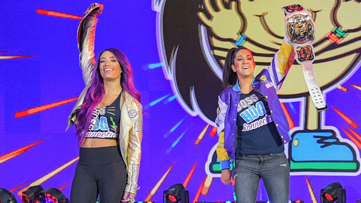 Sasha Banks Bayley WWE NXT