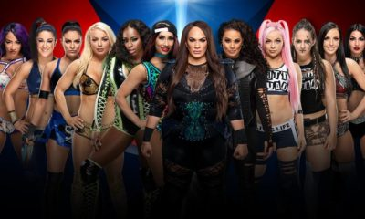 WWE Elimination Chamber Women's Tag Team Championship Match