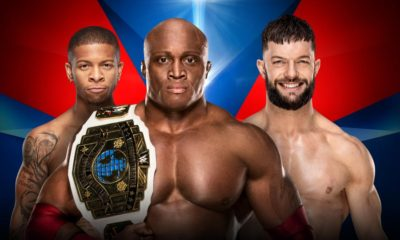 WWE Elimination Chamber Lio Rush Bobby Lashley Finn Balor