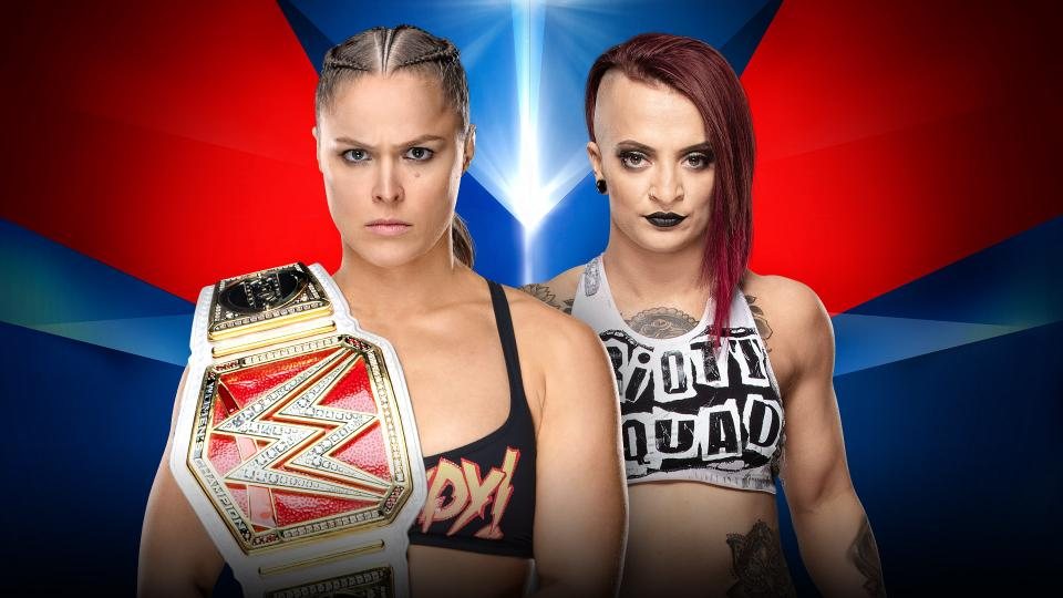 WWE Elimination Chamber Ronda Rousey Ruby Riott