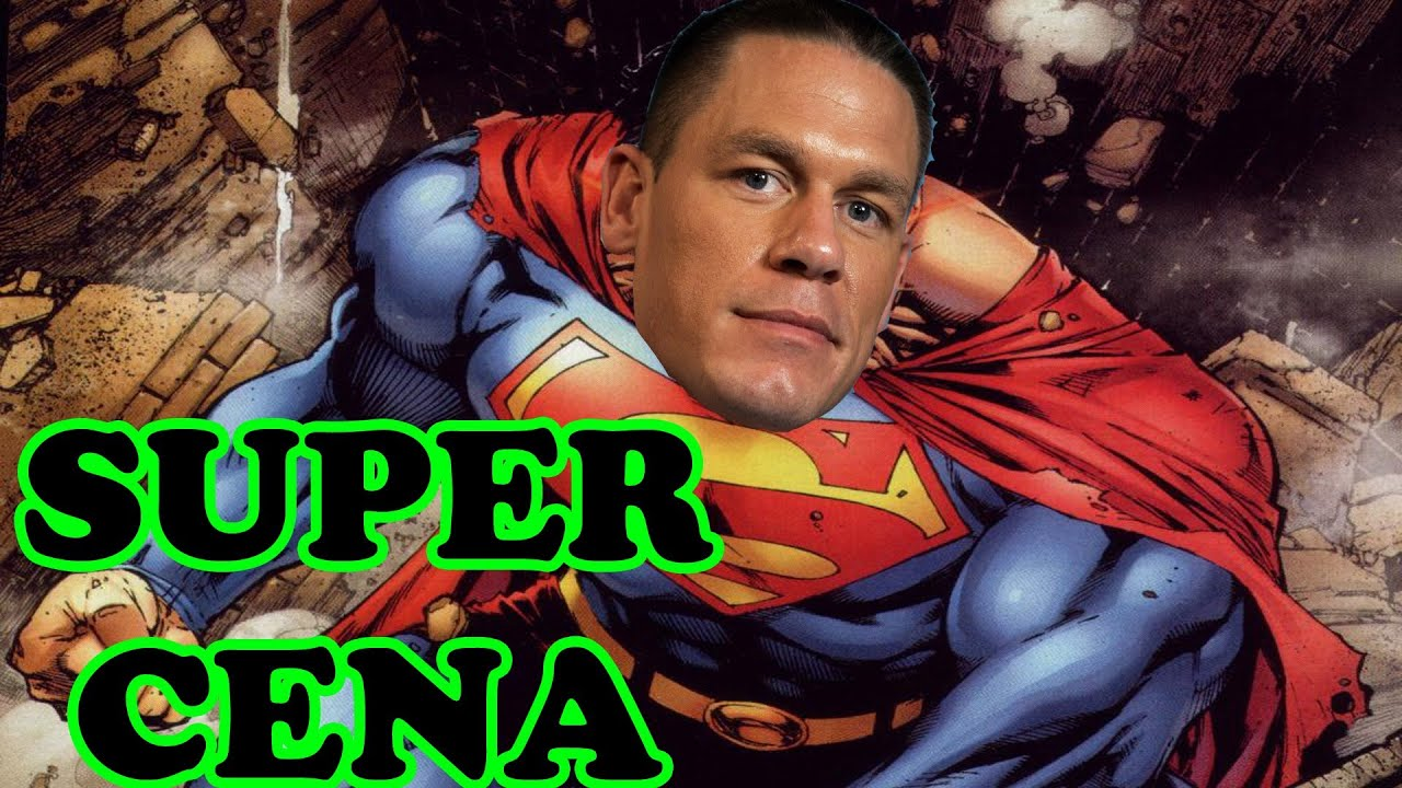 WWE Wrestling Comics John Cena Super Man