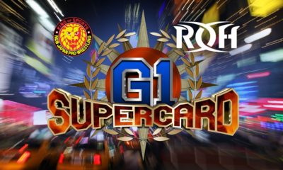 G1 Supercard ROH New Japan NJPW