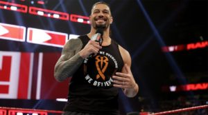 Roman Reigns WWE Off Season