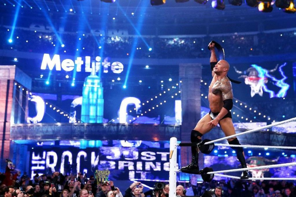 The Rock WWE WrestleMania 29