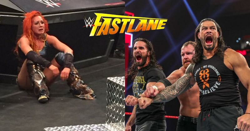 WWE Fastlane The Shield Roman Reigns Dean Ambrose Seth Rollins Becky Lynch
