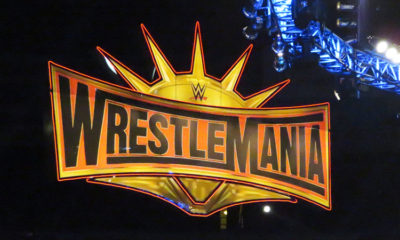 WWE WrestleMania 35 Sign