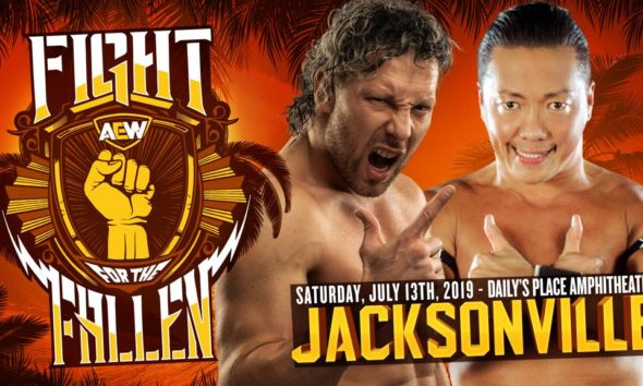 AEW Fight For The Fallen Kenny Omega CIMA