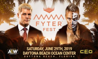 All Elite Wrestling Fyter Fest Cody Rhodes vs Darby Allin