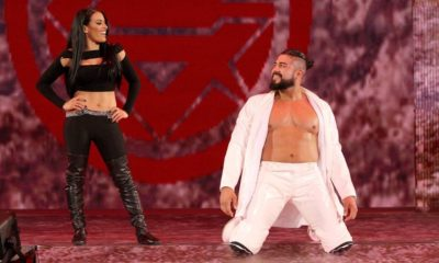 Andrade Zelina Vega WWE Superstar Shake-Up