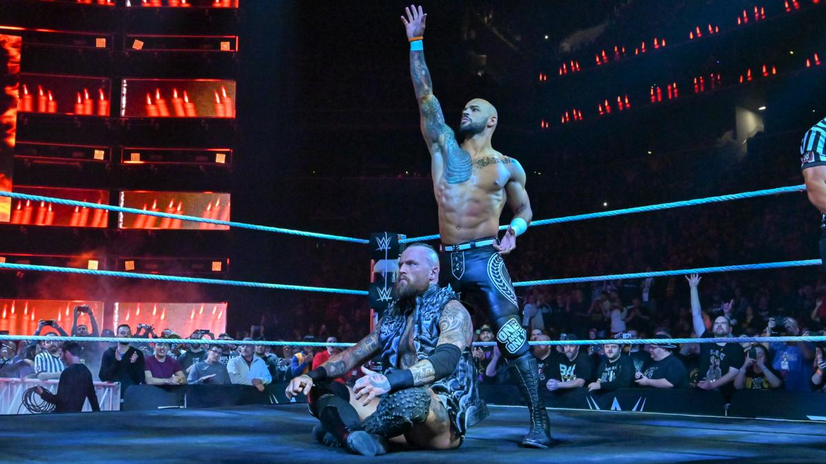 Ricochet Aleister Black WWE NXT Takeover New York