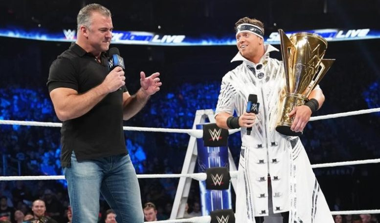 Shane McMahon The Miz WWE WrestleMania