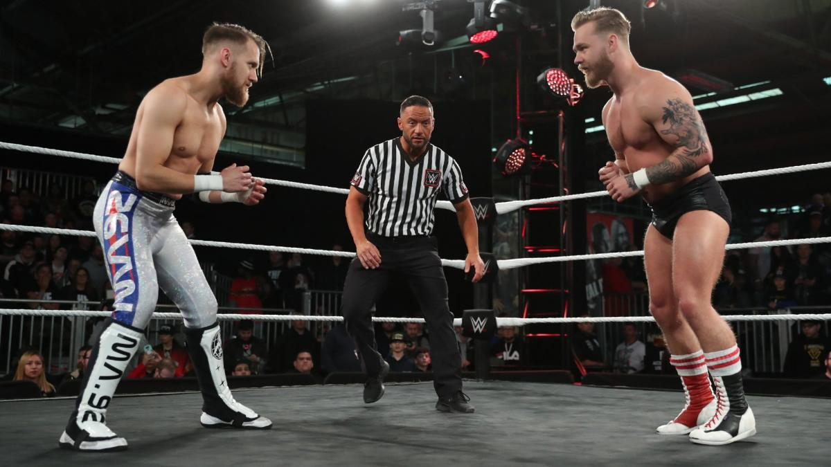 WWE NXT UK Mark Andrews Tyler Bate