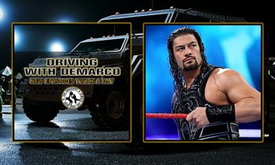 Driving With DeMarco Roman Reigns
