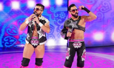 WWE 205 Live The Singh Bros