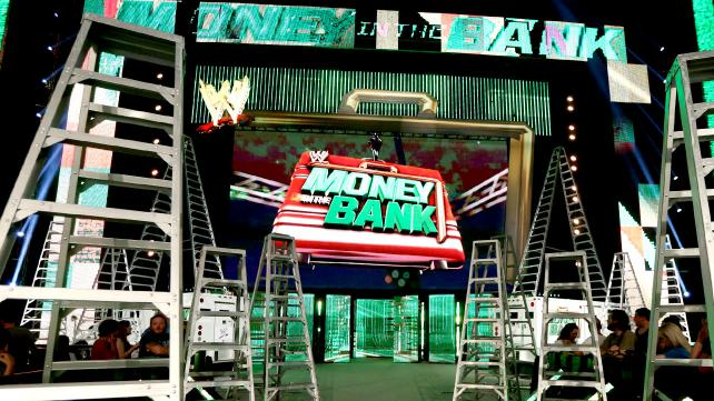 WWE Money In The Bank Stage