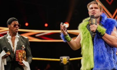 WWE NXT Tyler Breeze Velveteen Dream