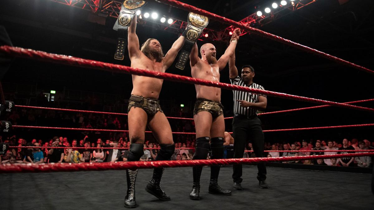 WWE NXT UK Grizzled Young Veterans