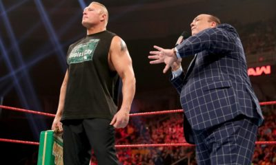 WWE Raw Brock Lesnar Paul Heyman Money In The Bank