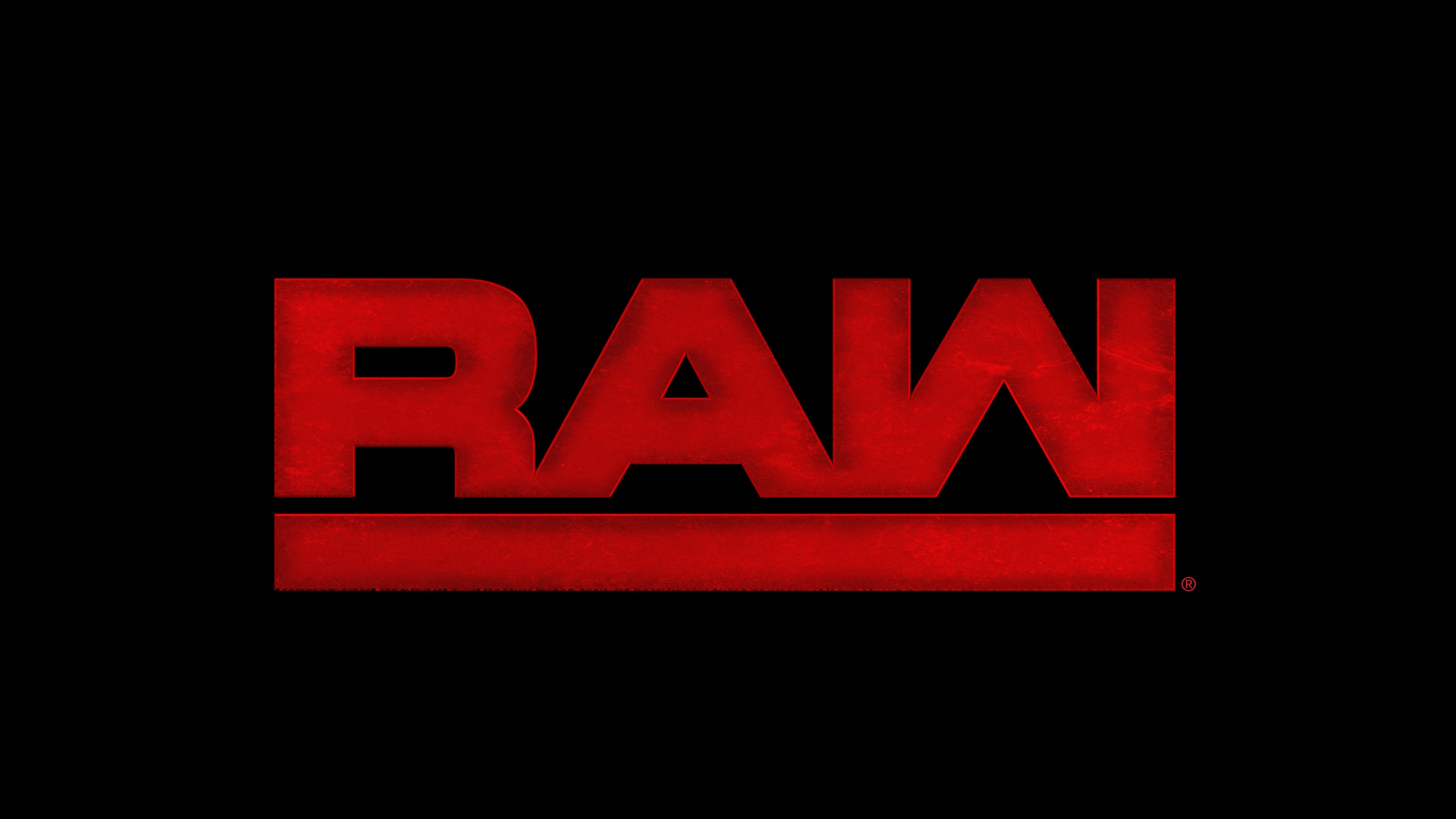 WWE Raw Logo Black