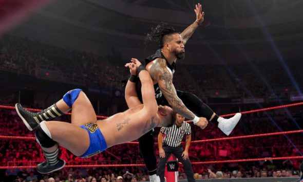 WWE Raw The Usos The Revival