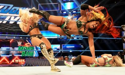 WWE Smackdown Ember Moon Mandy Rose