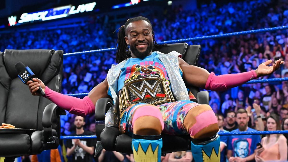 WWE Smackdown Kofi Kingston London