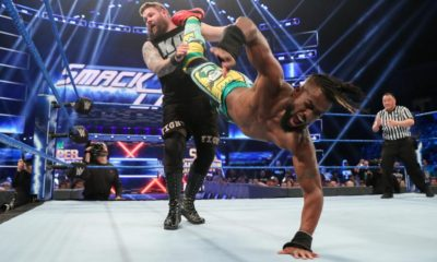 WWE Smackdown Live Kofi Kingston Kevin Owens