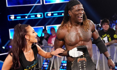 R-Truth Carmella WWE