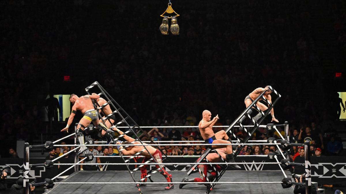 WWE NXT Takeover XXV Ladder Match