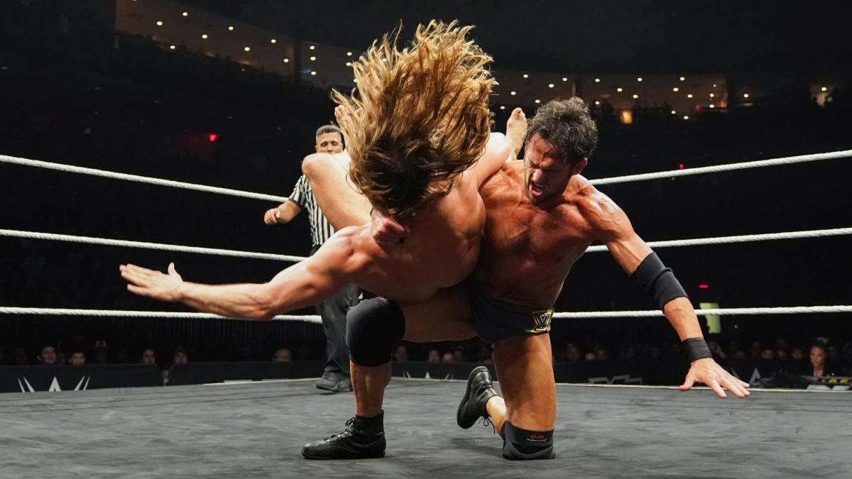WWE NXT Takeover XXV Roderick Strong Matt Riddle
