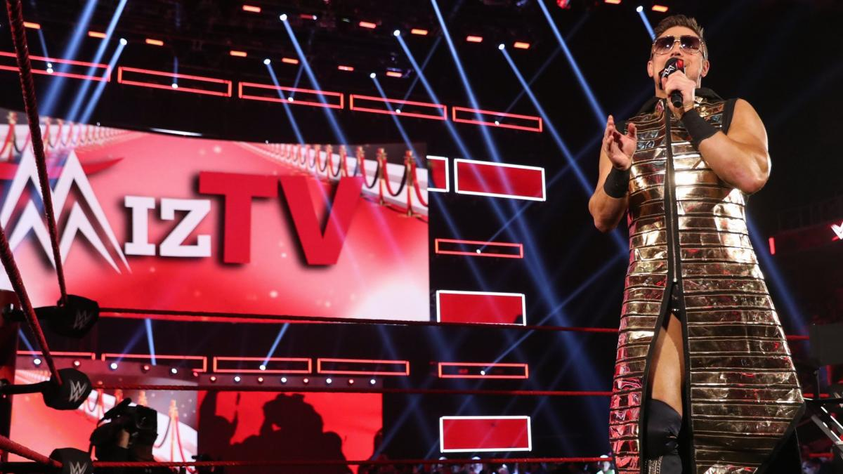 WWE RAW Miz TV