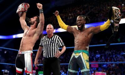 WWE SMackdown Seth Rollins Kofi Kingston