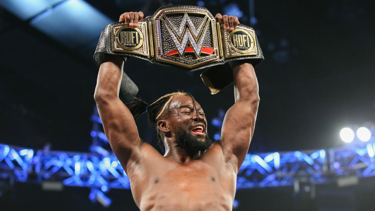 WWE Smackdown Kofi Kingston