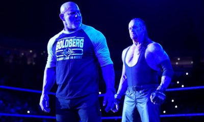 WWE Smackdown YouTube Goldberg The Undertaker