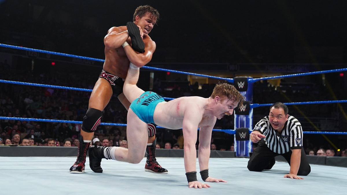 WWE 205 Live Chad Gable Jack Gallagher
