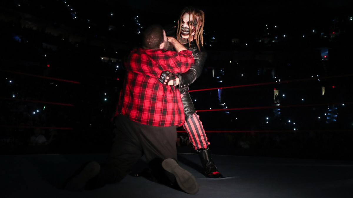 WWE Raw Bray Wyatt Mick Foley
