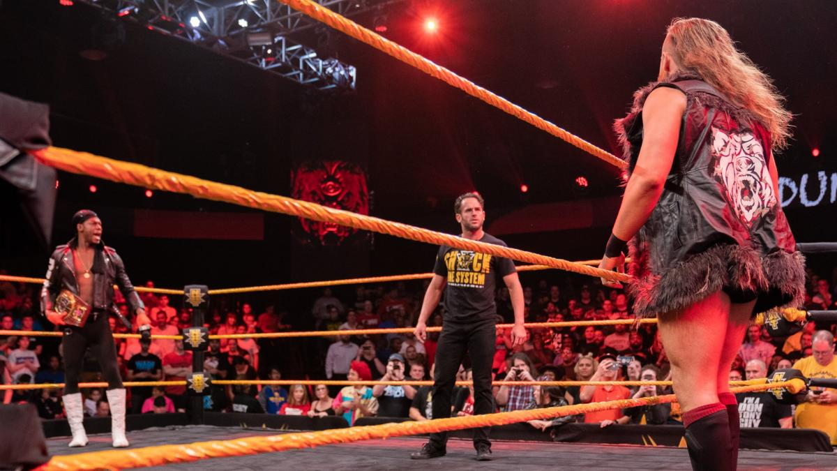 WWE NXT Velveteen Dream Roderick Strong Pete Dunne