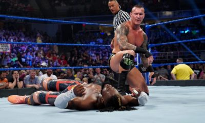 WWE Smackdown Randy Orton Kofi Kingston