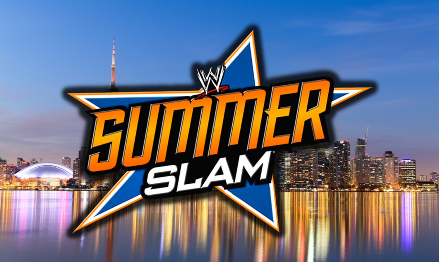 WWE SummerSlam Toronto Skyline