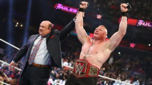 WWE Brock Lesnar Paul Heyman Best For Business
