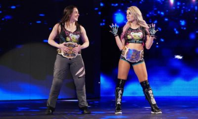 WWE RAW Nikki Cross Alexa Bliss