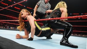 WWE Raw Becky Lynch Natalya